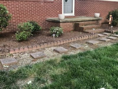 Curb Appeal - Stone and rock path